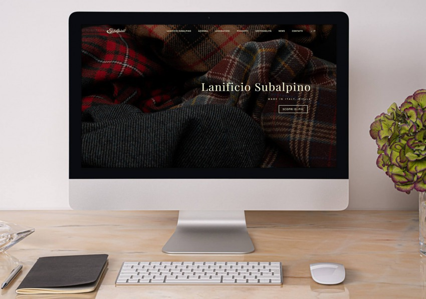 Lanificio Subalpino We are online with our new website!